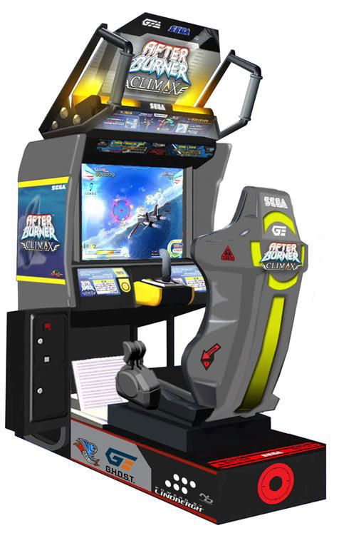 After Burner Climax Arcade Machine