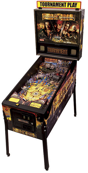 Pirates Caribbean Pinball