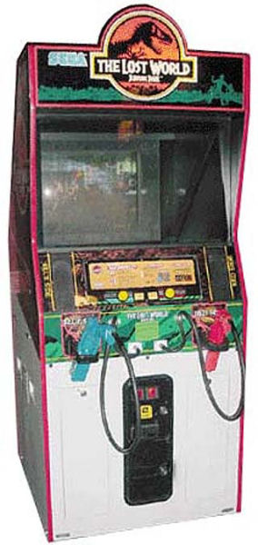 The Lost World Jurassic Park Arcade Machine Shooting Game