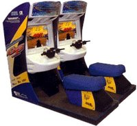 Wave Runner Twin Driving Game